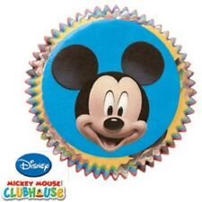 NEW MICKEY MOUSE CLUBHOUSE BAKING CUPS CUPCAKE LINERS MUFFIN BIRTHDAY PARTY