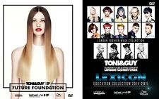TONI&GUY FUTURE FOUNDATION & LEXICON COLLECTION-8 DVDs/HAIR dds