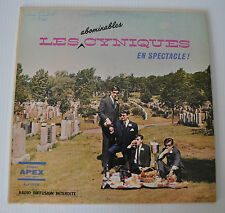 les CYNIQUES En Spectacle LP Record Quebec Comedy French APEX