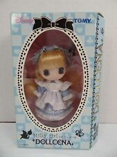 New Tomy Disney's Dollcena Doll - Milky Girl - Alice In Wonderland
