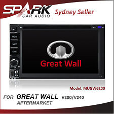 SP AFTERMARKET GREAT WALL V200 V240 GPS DVD SAT NAV IPOD SD BLUETOOTH NAVIGATION