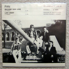 Single / PAN / 1976 / SPIDERRECORDS / MACHINE GUN LOVE  / AUSTRIA / RARITÄT /