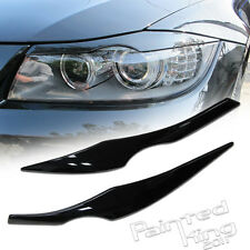 BMW E90 eyelids eyebrows Headlight Cover 06-11 Painted 475