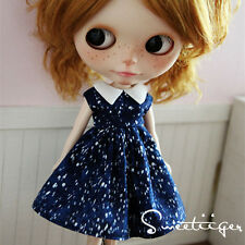 "【Tii】cute dress outfit 12"" 1/6 doll Blythe/Pullip/azone Clothes Handmade girl"