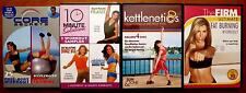 LOT OF 4 EXERCISE WORKOUT DVD GUNNAR PETERSON'S CORE SECRETS 10 MINUTE SOLUTION