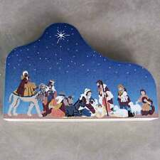 """Cat's Meow Village Christmas Nativity Scene """"For to us a Child is Born"""" #10-602"""