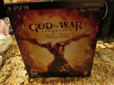PS3 God of War: Ascension Collector's Edition (Sony PlayStation 3) NEW FREE SHIP