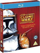 Star Wars Clone Wars: Complete Season One 1 [Blu-ray Set, Region Free, 3-Disc]