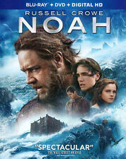 Noah (Blu-ray + DVD + Digital HD) 2 Disc Set LIKE NEW With Slipcover