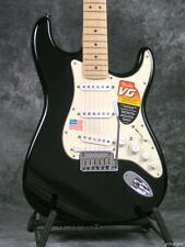2007 FENDER VG MODELING STRATOCASTER BLACK with MAPLE NECK GUITAR and CASE STRAT