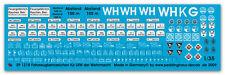 Peddinghaus  1218 1/35 Fahrzeugkennzeichen für LKW Nachschub und andere sowie ta