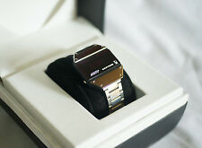 BULER BERTONE STRATOS VINTAGE RARE LED WATCH - STEEL VERSION - HUGHES MODULE