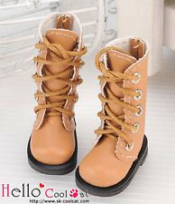 ☆╮Cool Cat╭☆【13-09】Blythe Pullip Doll Shoes Boots # Pale Brown