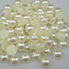 2000pcs Half Round Pearl Bead Flat Back Size 2mm Scrapbook for Craft ,Ivory