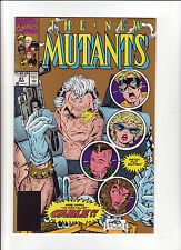 New Mutants #87 9.6 1990 Marvel Comic gold ed 1st Cable