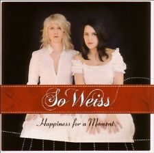 SO WEISS - HAPPINESS FOR A MOMENT  CD NEU