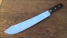 GORGEOUS Vintage Dexter Chef's XXL Carbon Steel Butcher Knife RAZOR SHARP