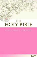 THE HOLY BIBLE KJV [PINK]-ExLibrary