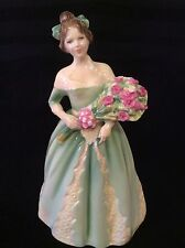"Royal DOULTON Figurine "" Happy Birthday"" HN 3660 Nada Pedley EUC MOTHER DAY GIFT"