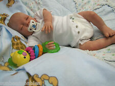 EST ARTISTS SUNBEAMBABIES CHILD FRIENDLY NEW REBORN BABY BOY DOLL VERY LIFELIKE