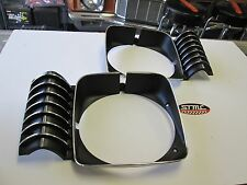 69 70 71 72 NOVA CHEVY II HEADLIGHT HEADLAMP BEZELS PAIR LH RH NEW
