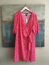 LANE BRYANT WRAP DRESS SIZE 26/28