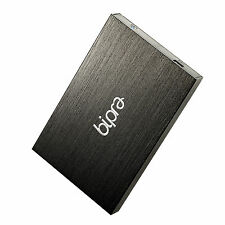 BIPRA MAC Edition 250GB 2.5 Portable External Hard Drive USB 2.0 - Black