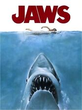 *****GREAT JAWS MOVIE T-SHIRT IRON ON TRANSFER**************