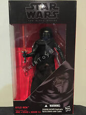 Star Wars Black Series, 6 inch KYLO REN figure Hasbro RARE