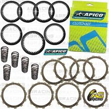 Apico Clutch Kit Steel Friction Plates & Springs For Kawasaki KXF 450 2008 MotoX