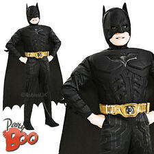 Muscle Batman Child Age 5-7 Dark Knight Superhero Fancy Dress Boys Kids Costume