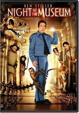 Night at the Museum (Full Dub Sub Ac3 Dol Dts)  DVD Ben Stiller, Carla Gugino, R