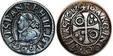 ESPAGNE BARCELONA Philippe III, 1/2 Réal 1612