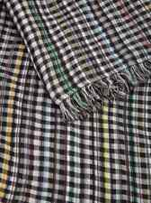 Paul Smith Scarf -Grey Signature Multi Stripe checked/BNWT/RRP: £119