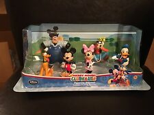 Disney Store Exclusive Mickey Mouse Clubhouse 6 Figurine Playset Set NEW