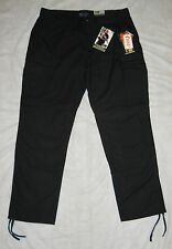 "TDU 5.11 TACTICAL TROUSERS ""BLACK"" MEN'S 2XL, POLY/COTTON RIPSTOP, NWT'S!"