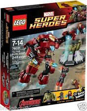 New Lego SuperHeroes 76031 The Hulk Buster Smash (Bricks House) - creased box