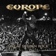 Live at Sweden Rock: 30th Anniversary Show by Europe (CD, Nov-2013, 2 Discs,...