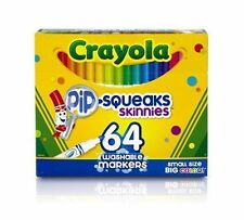 Washable Markers Set 64 Ct Crayola Color Art Craft NEW Free Shipping