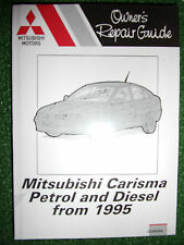 MITSUBISHI CARISMA with petrol +diesel engines WORKSHOP MANUAL 1995-2000