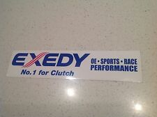 4x4 4WD RACING CLUTCH  DRAG DRIFT V8 STICKER, BIG 265mm TOYOTA NISSAN EXEDY