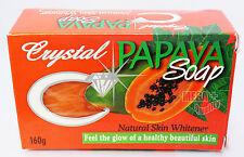 Crystal Papaya Herbal Soap Skin Whitening Lightening Natural Whitener 160g.