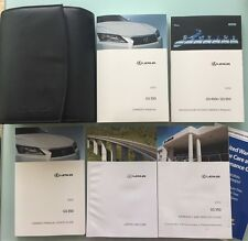 2013 LEXUS GS350/450h WITH NAVIGATION OWNERS MANUAL SET + FREE SHIPPING