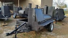 Rib Master Pro BBQ Mobile Catering Business Smoker Grill Trailer Food Cart Truck