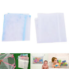 Soft Baby Bath Toy Bag Net Pouch Organizer Tidy Storage Tile Sucker