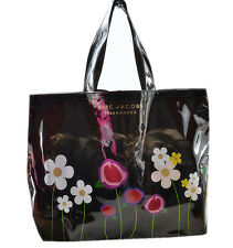 GWP Marc Jacobs PVC Floral Printed OPEN Tote/Shopper/Handbag flawed