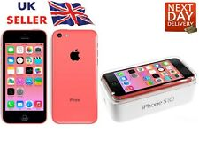 New iPhone 5c Pink 32GB Apple Brand Unlocked Sim Free Smart Phone Sealed Boxed