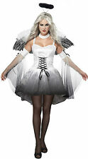 Halloween Party Devil Angle Sexy Cosplay Costume Women Lady Fancy Dress White