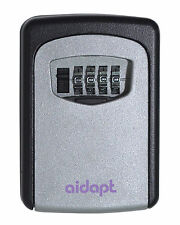 Aidapt Wall Mounted Weatherproof Key Combination Lock Car House Keys Safe Box