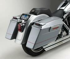 Cycle Visions Black Bagger-Tail Bag Mount for 1986-2007 Harley Softail CV-7200A